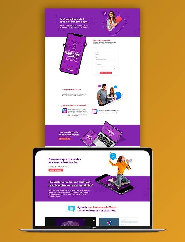 Landing-Ebook-Web